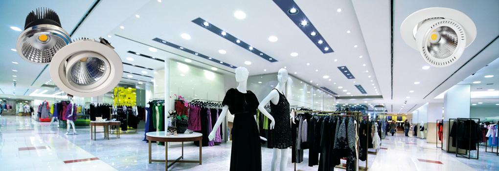 Slider LED Shopstrahler